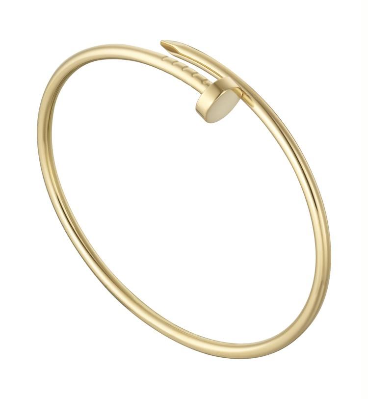 1970年代、アルド・チプロがカルティエ ニューヨークのために「釘」をモチーフにしたブレスレットをデザインしたのが最初のコレクション。