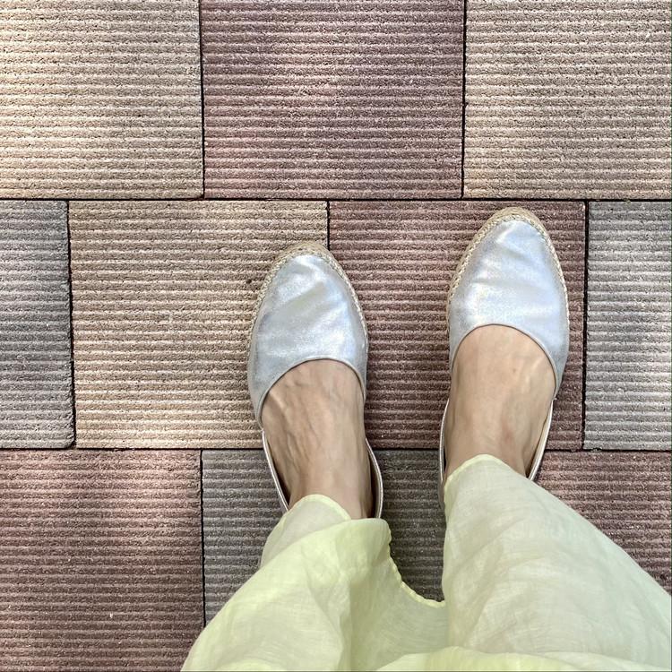ジーユー(GU) 2021春 買ってよかった おすすめ シューズ 靴 エスパドリーユ はきやすい GU SHOES LAB