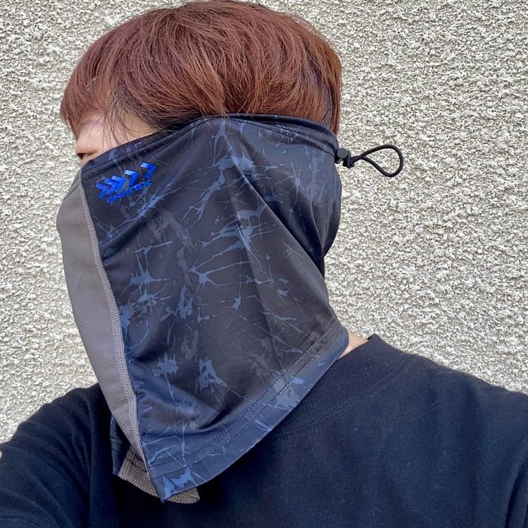【ワークマン(WORKMAN)】暑い夏のマスク代用にお役立ち!? 接触冷感・吸水速乾・UVカット機能つきネックチューブ&フェイスカバー「クールシールド ネオ」_10