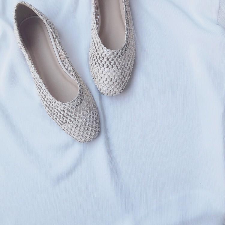 【GU春靴】履き心地最高!今季注目素材のバレエシューズ_1