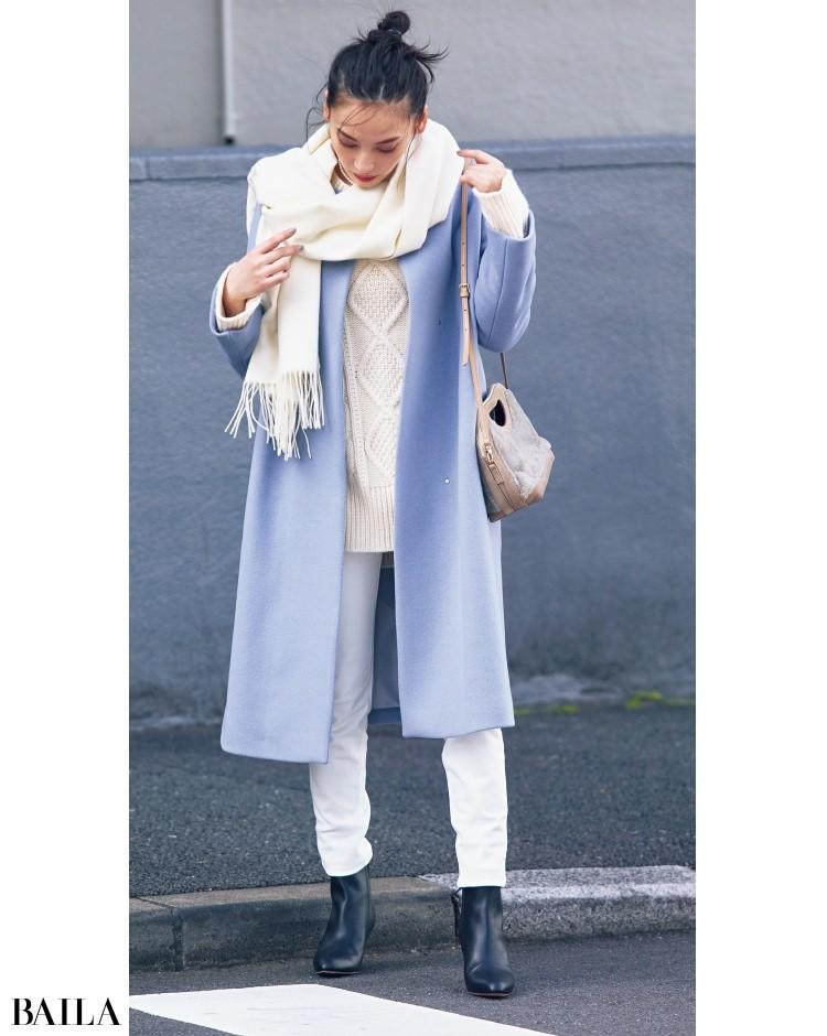 STRAWBERRY-FIELDS[ストロベリーフィールズ]のきれい色コート