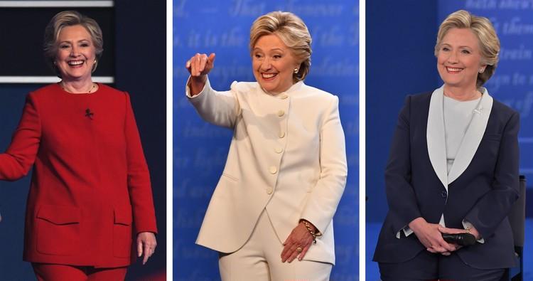 【働く女の星★】ヒラリー・クリントンの「勝負服」おさらい_2