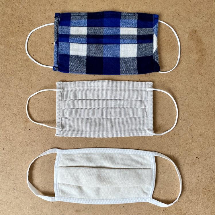 【無印良品】「繰り返し 使える 2枚組・マスク」秋冬向けあったかバージョン3種が新発売 フランネル、コーデュロイ、裏毛素材
