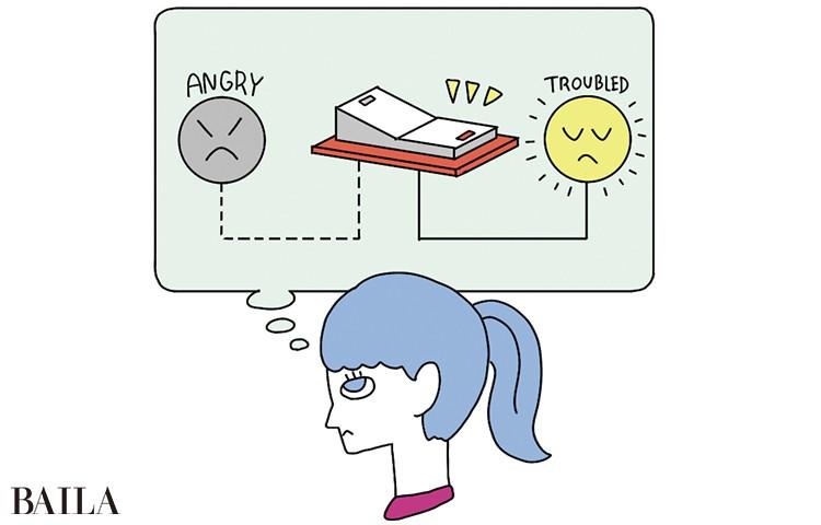 「怒り」から「困った」へ 頭のスイッチを切り替える