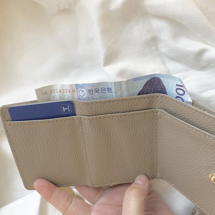 旅行用に♡BAILA付録のミニ財布_3