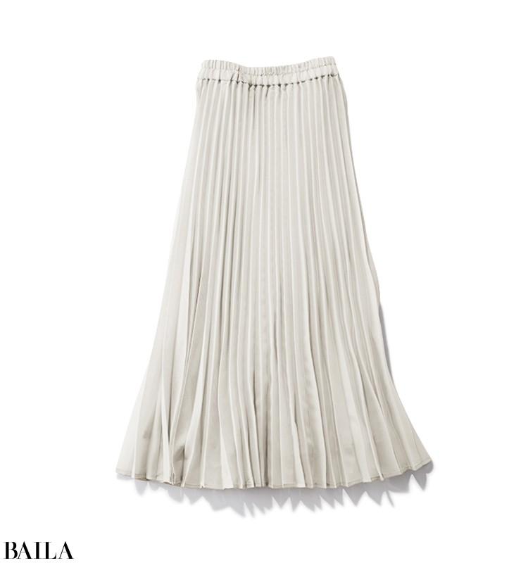 フランス語レッスンに行く日は、抑えめカラーのシャツ×スカートコーデ【2020/3/8のコーデ】_2_3