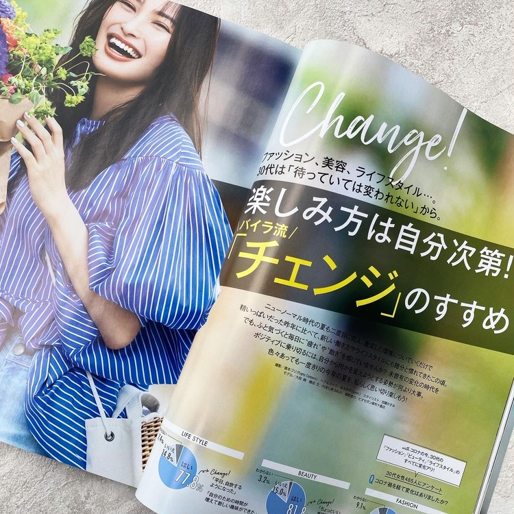 BAILA8月号発売♡今月の読みどころは?_2