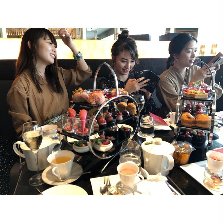 【バイラーズ女子会】GINZA SIXでオシャレアフタヌーンティー♡_5