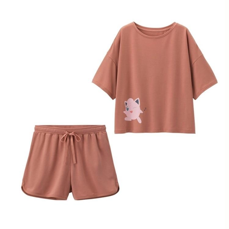 【写真】GU×ポケモンのパジャマ・Tシャツでお家時間を楽しく_3