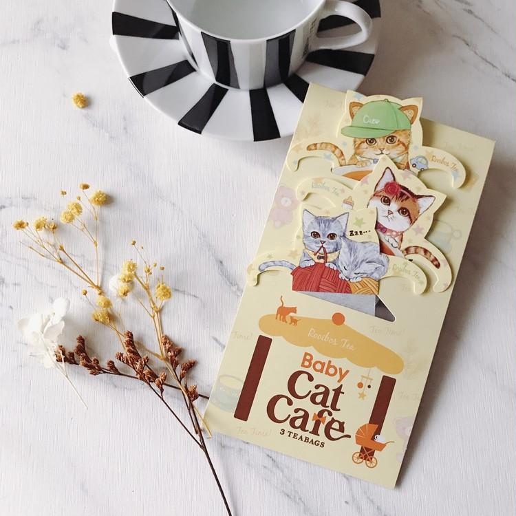 おうちで猫カフェ気分?!猫好きさん必見!可愛すぎるルイボス茶_1