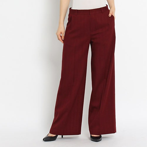秋を先取り! 8月は赤みブラウンパンツをTシャツで爽やかに仕上げて♪_6