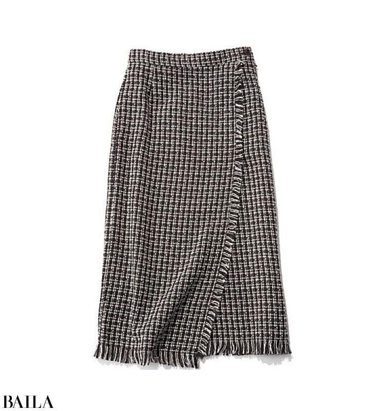 歌舞伎を見に行く日は、雅なパープルカーデの上品スカートスタイル【2019/12/5のコーデ】_2_2