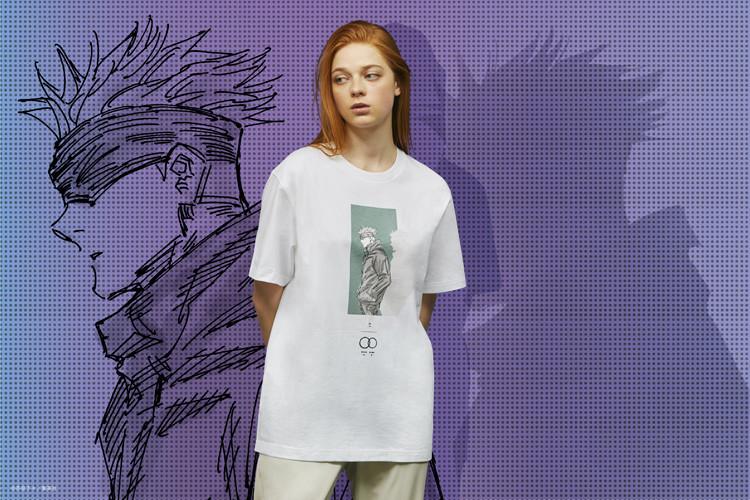 呪術廻戦 UT グラフィックTシャツ 五条 悟(半袖・レギュラーフィット)