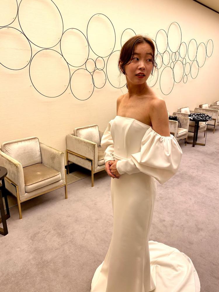 【Wedding】ドレス試着すべて見せます♡/最終編_1_2