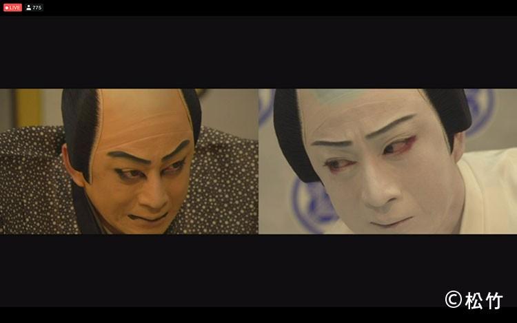 松本幸四郎の図夢歌舞伎の忠臣蔵2アングル