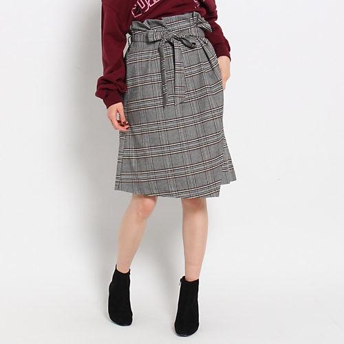 おしゃれにスタイルアップ! この秋は、チェックの腰高スカートを♡_4