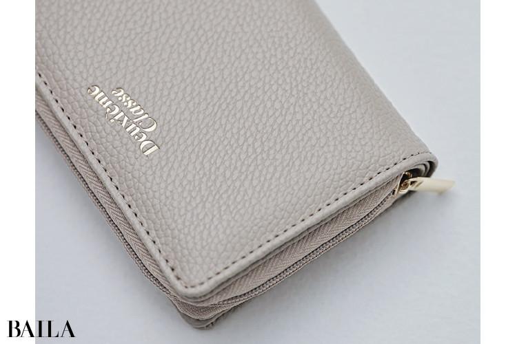 BAILA×ドゥーズィエム クラスのミニ財布:こだわり1