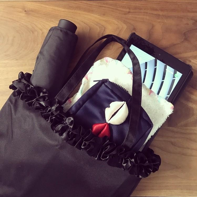 10月号付録、CELFORD×BAILA上品フォーマルバッグをスーパーサブバッグに。_2