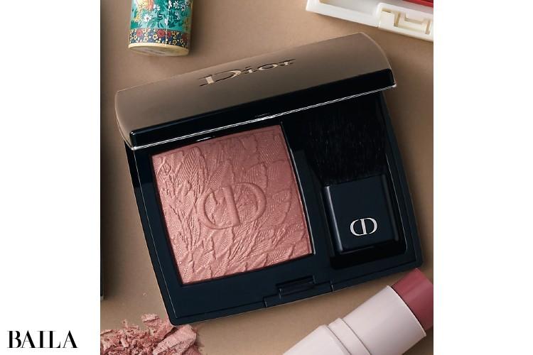 Dior ディオールスキン ルージュ ブラッシュ 〈バーズ オブ ア フェザー〉 468