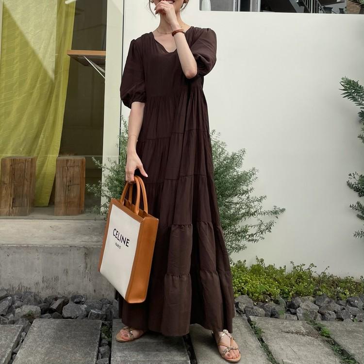 【プチプラ】着るだけでコーデ完成♡高見えの夏ワンピ!_2