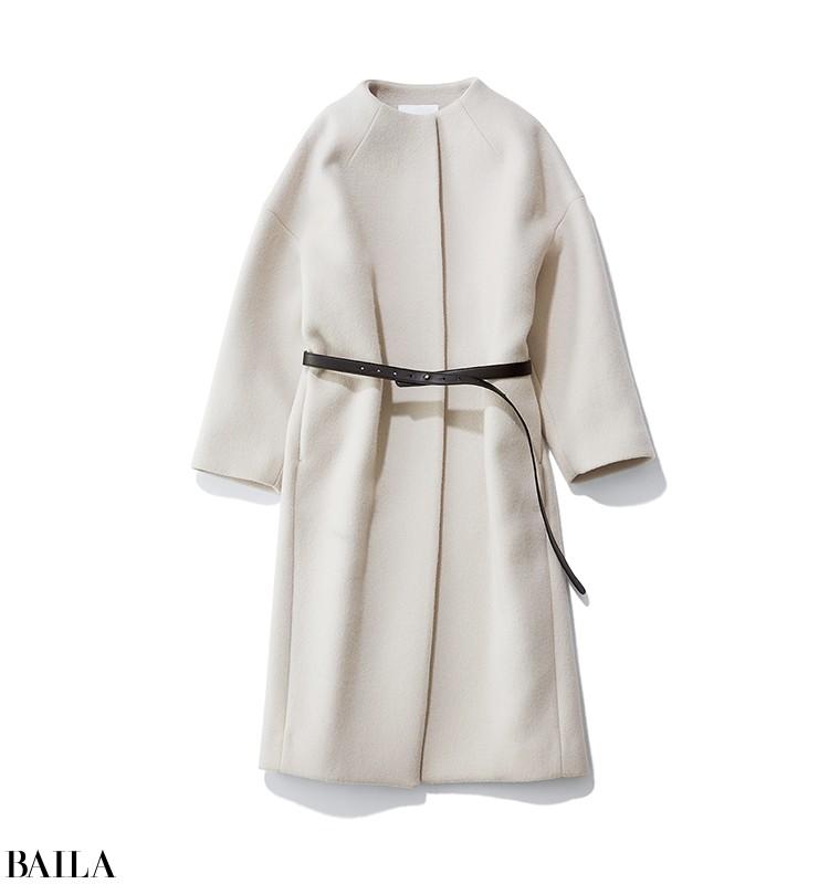 朝寝坊した日は、華やか色のニット×スカートのワンツースタイル【2020/1/21のコーデ】_3_1