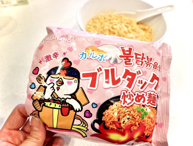 【プルダック炒め麺】辛いの苦手でもを美味しく食べる方法!!_2