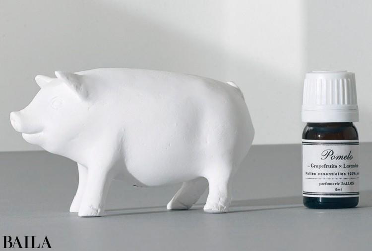 アロマオーナメント Walking Little Pig ¥3200/ライブラリーデザイン(BALLON)