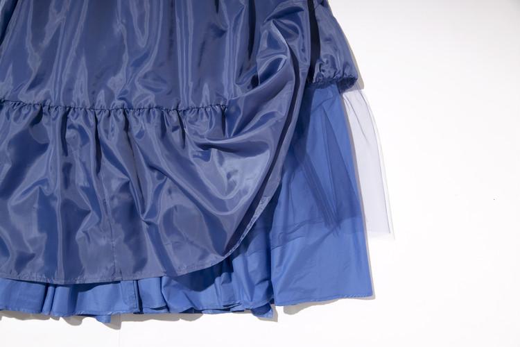 【フレイアイディー(FRAY I.D)】春新作のギャザーフレアスカートのすそ部分