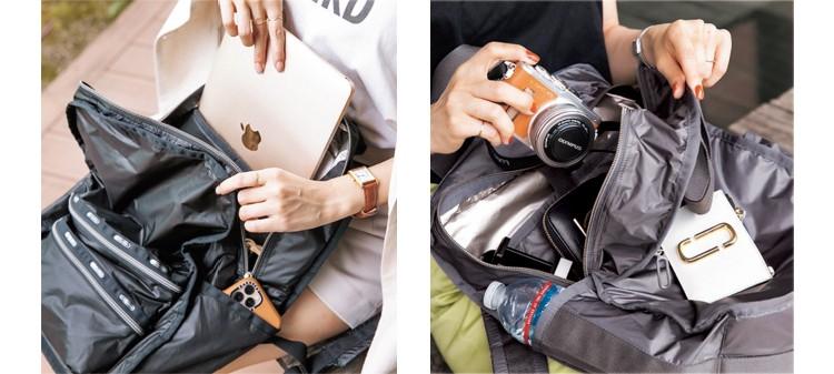 カジュアル化する通勤スタイルにも、休日のお出かけにも【毎日愛せるレスポートサックの機能派バッグ】_6