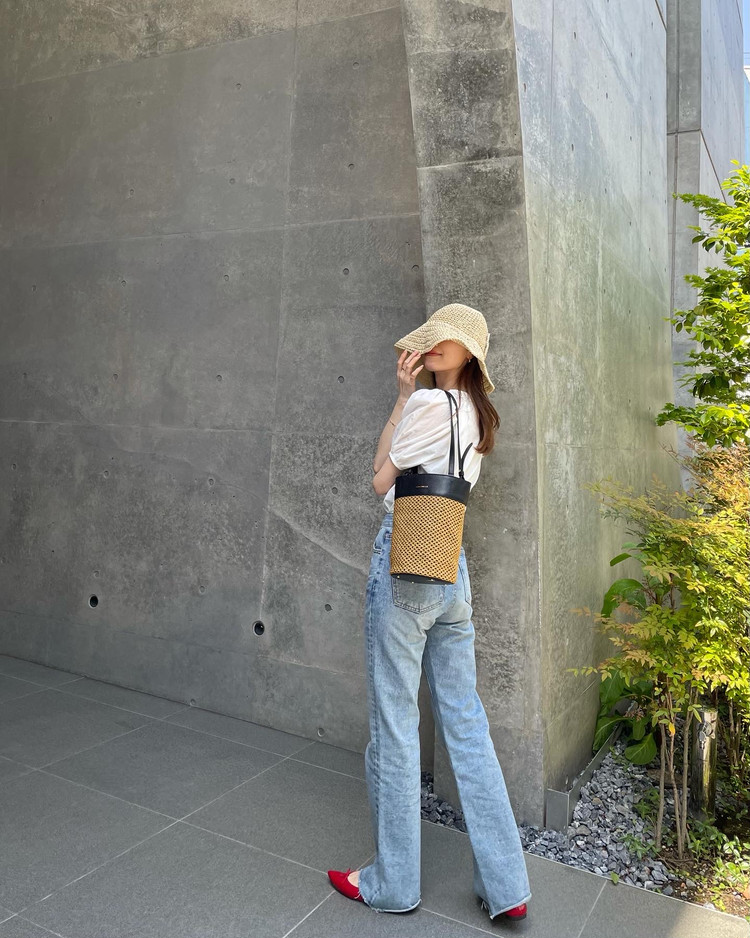 COCCINELLEのカゴバッグで夏の準備スタート♡_3
