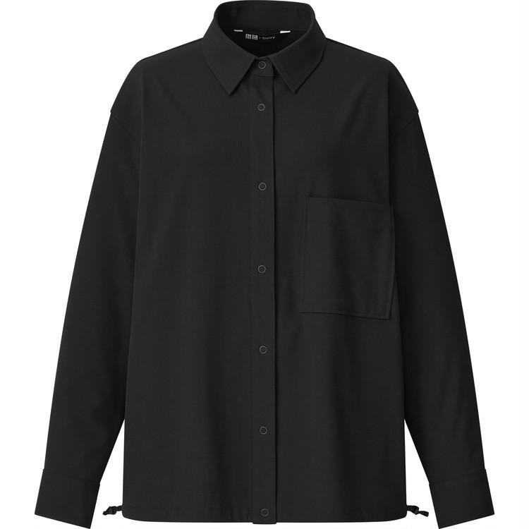 ストレッチシャツジャケット ¥4990