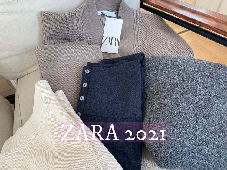 【ZARA新作】家の外でも中でも着れちゃうゆるっとスタイル_1