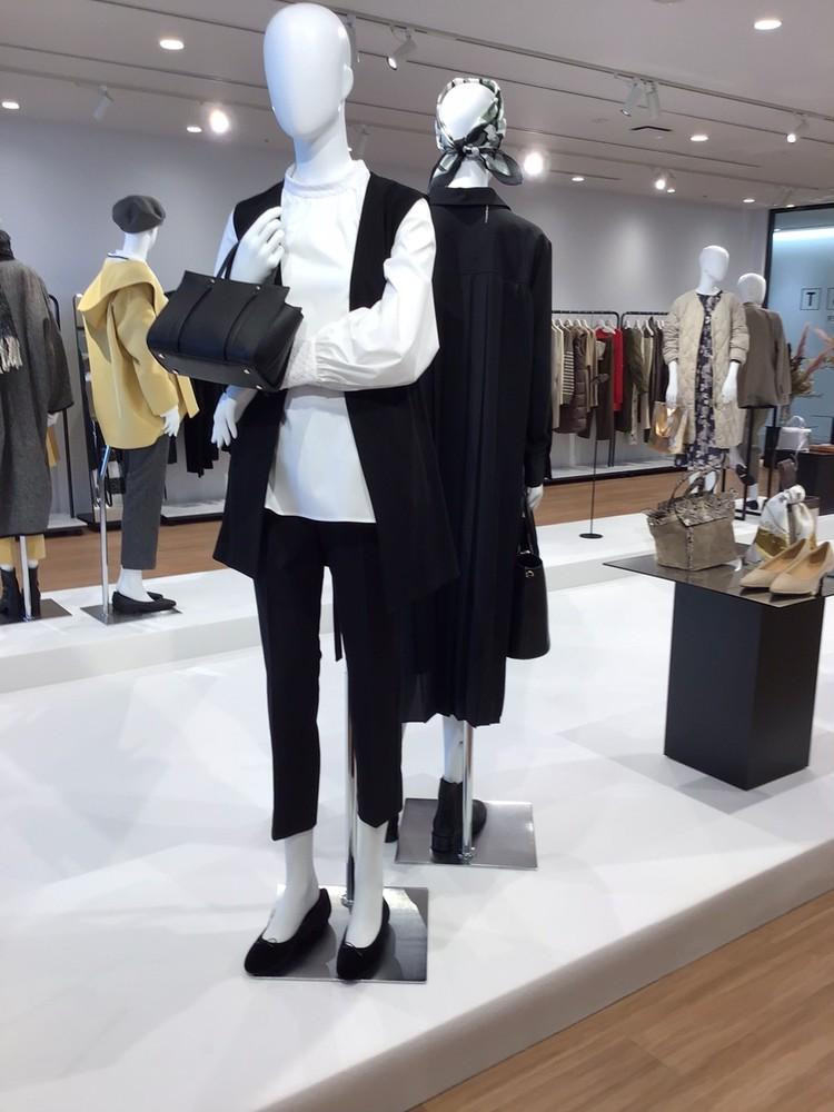 【PLST(プラステ)】2021秋冬新作展示会レイヤードスタイル