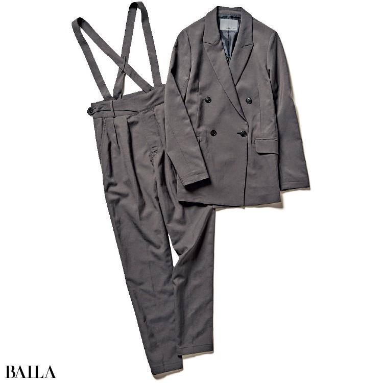 アンクレイヴのジャケットとパンツ