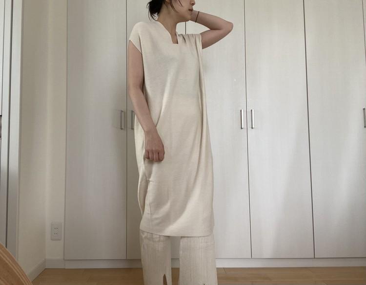 《UNIQLO×mamekurogouchi》が可愛すぎる!お気に入りの白と茶色アイテム_3_2