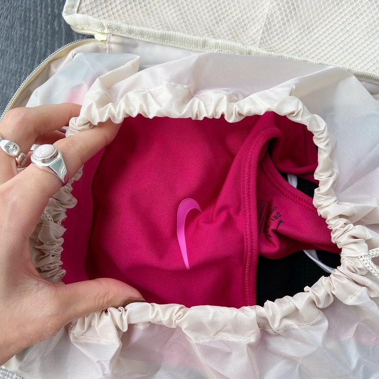 5月号付録はイエナのガーメントバッグ。早速使ってみた♡_4