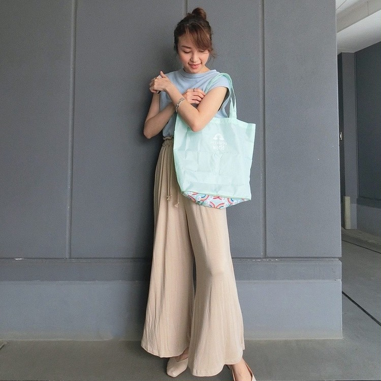 8月号付録はミア・チャロ×BAILA ショッピングトート♡_6