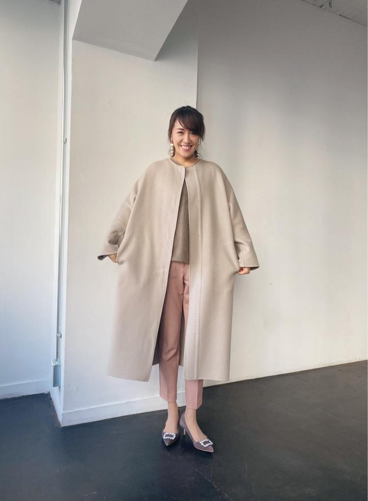憧れコートと美脚パンツ_1