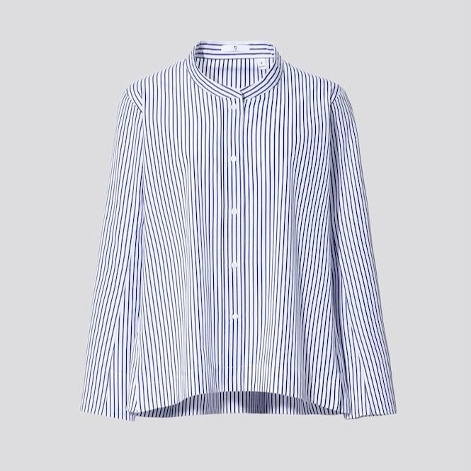 今なら半額!なんかシャツが苦手‥な人におすすめのUNIQLO +J_4
