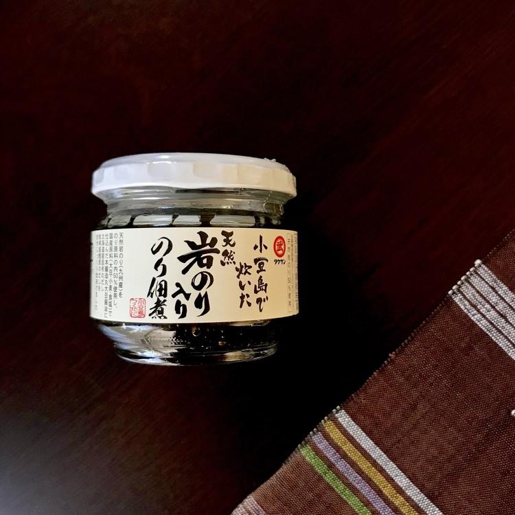 【カルディ(KALDI)】絶品びん詰め調味料(タケサン 小豆島で炊いた天然岩のり入り のり佃煮)