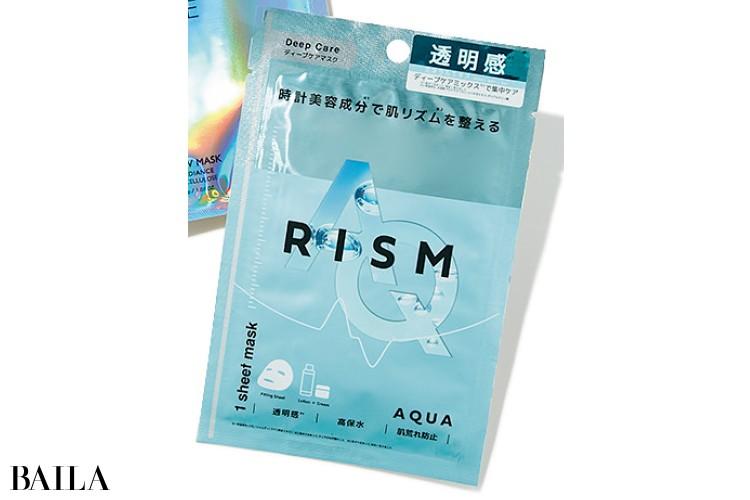 RISM(リズム) ディープケアマスク アクア 1枚入り ¥198/サン・スマイル
