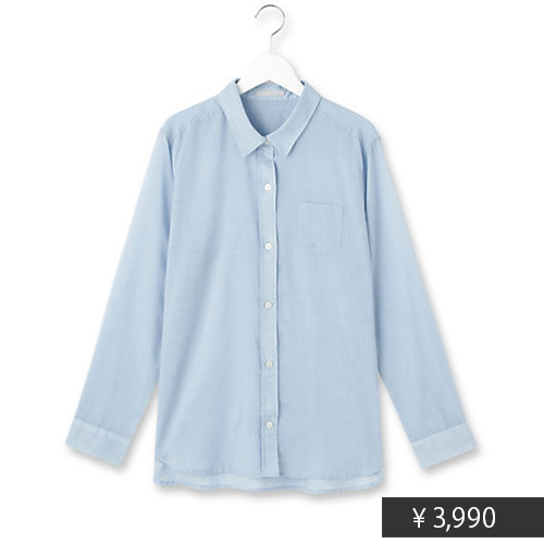 スクールガール風に♡ ベーシックシャツ×ガウチョの組み合わせがおしゃれすぎる!_3