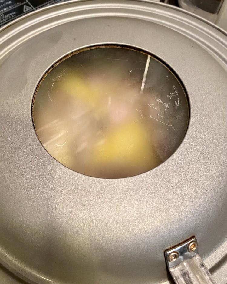 にんにく&チーズパワーで元気になれる⤴️「松屋」超バズ人気鍋メニュー【シュクメルリ】を公式レシピで作ってみた!_14