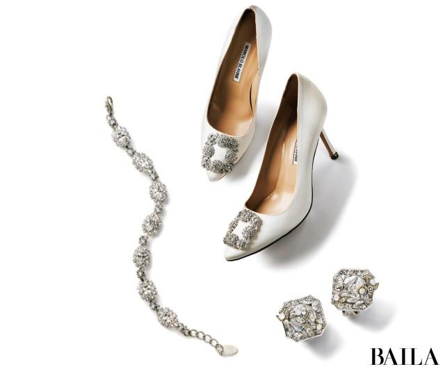 Earrings & Bracelet & Shoes