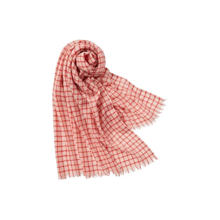 ユニクロ × イネス・ド・ラ・フレサンジュ 2021年秋冬コレクション カシミヤストール¥4990