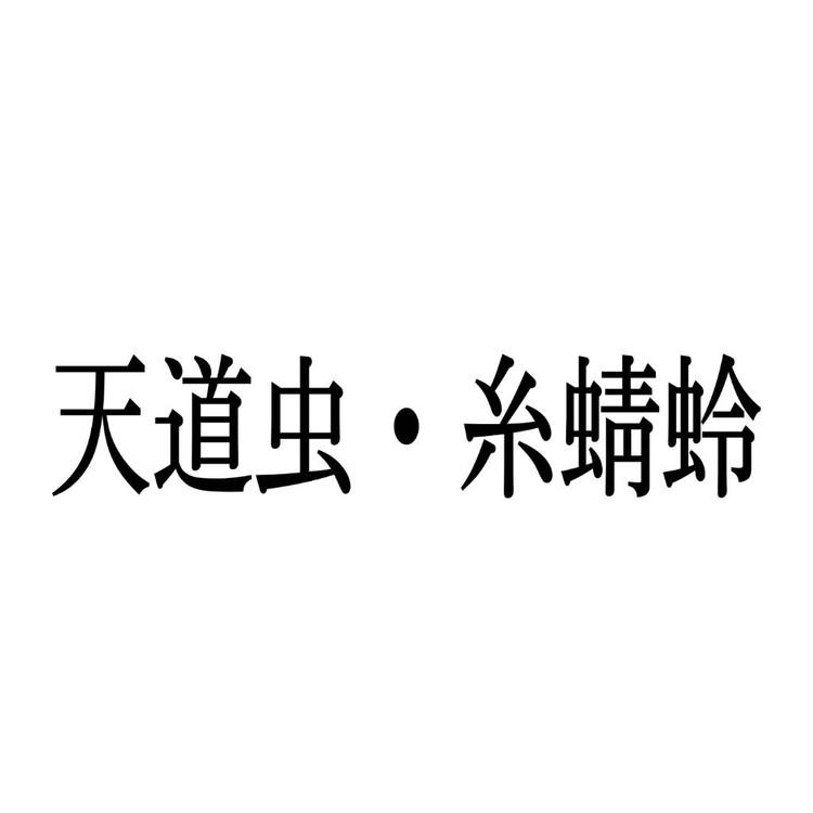 てんとうむし いととんぼ 漢字