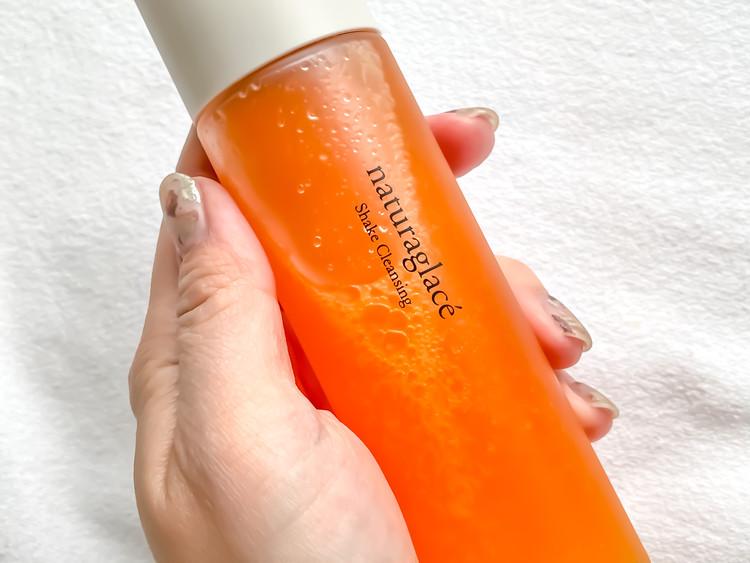 シェイクすると、濃密なオレンジスカッシュみたいに。