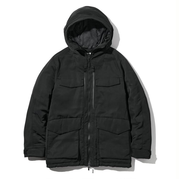 ハイブリッドダウンオーバーサイズパーカ ¥12900
