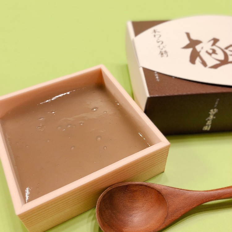 京都の老舗和菓子舗「京菓子 笹屋昌園」の本わらび餅「極み」の中身