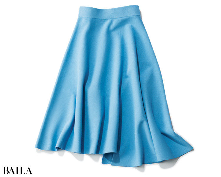 デザインワークスのフレアニットスカート